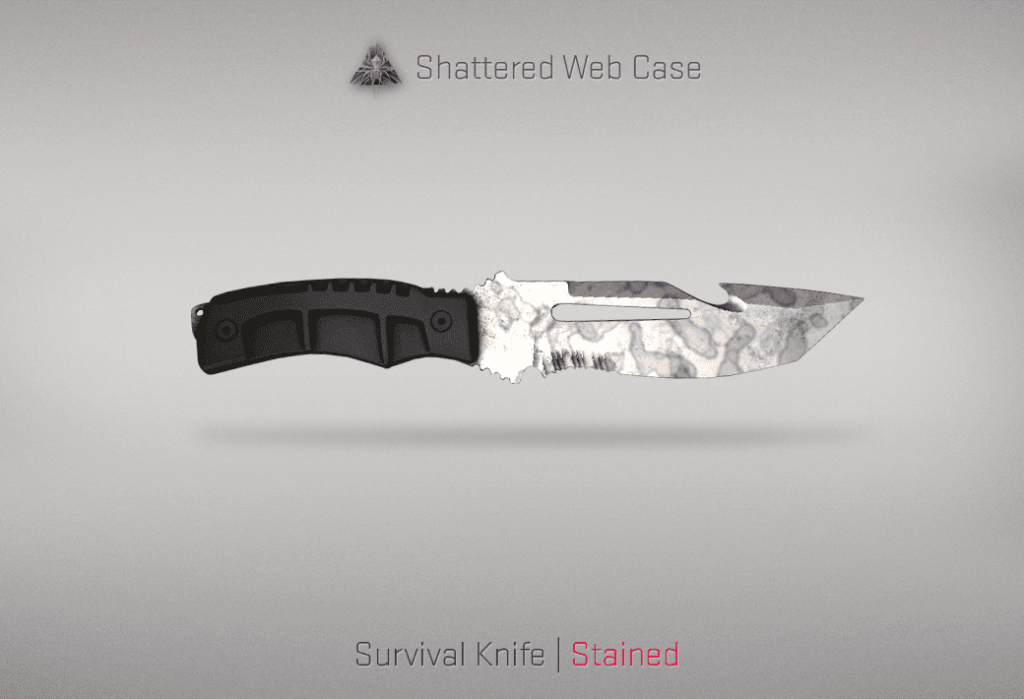 02 Survival Knife Stained