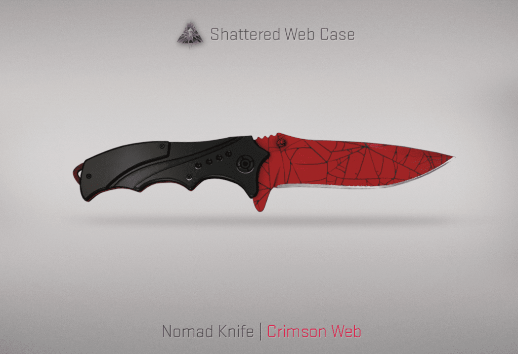 03 Nomad Knife Crimson Web