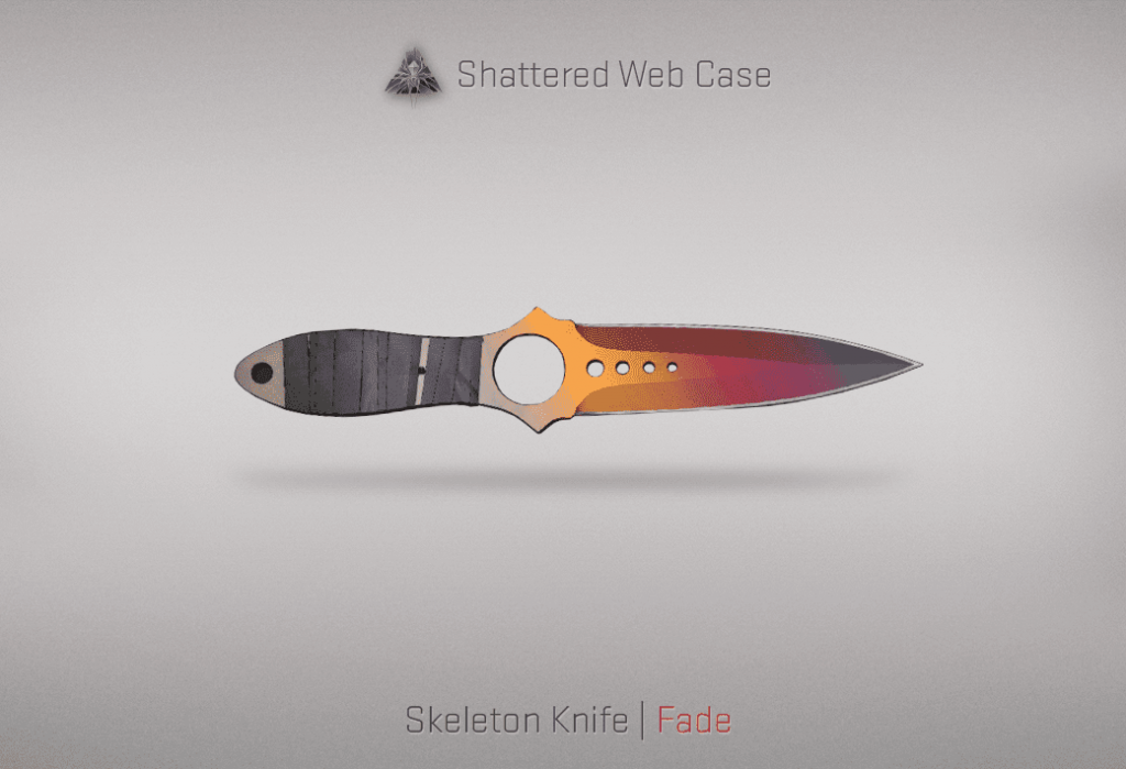 04 Skeleton Knife Fade