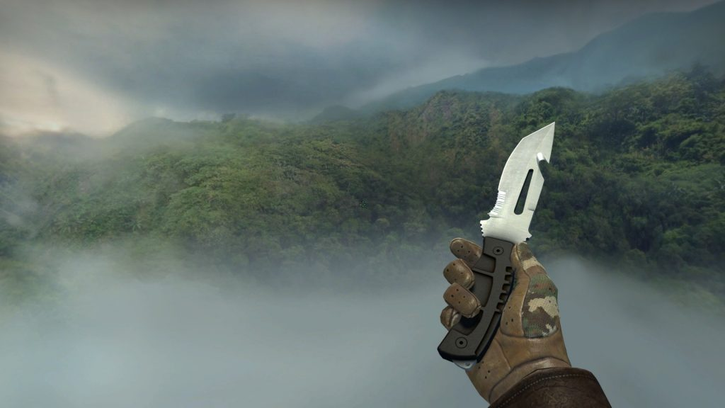 Survival knife CSGO