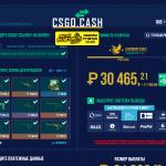 csgocash моментальная продажа скинов