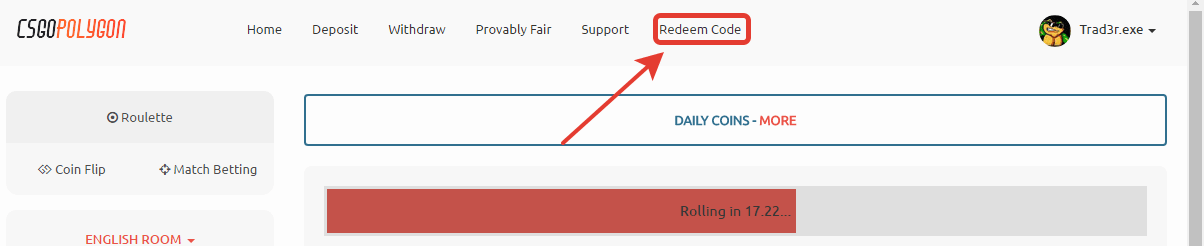 csgopolygon redeem code