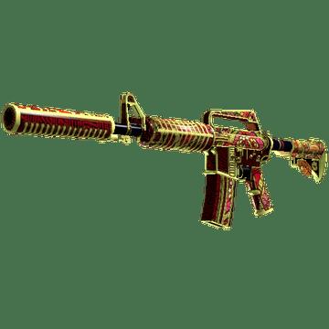 M4A1-S Огонь Чантико