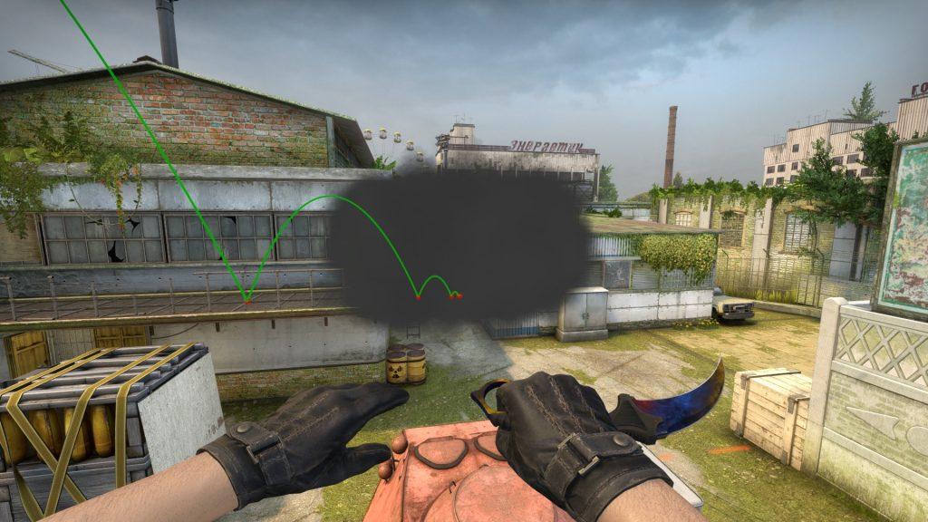 Дым на балконе завода A Xgo
