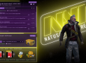 Анимированный фон с рамками NAVI для CS:GO – Panorama UI