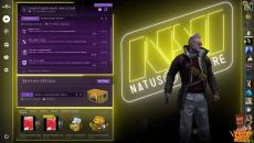 Анимированный фон с рамками NAVI для CS:GO - Panorama UI