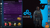 Фон Cloud9 - Panorama UI