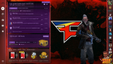 Фон Faze Clan - Panorama UI