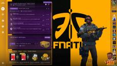 Фон Fnatic - Panorama UI