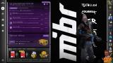 Фон MIBR для CS:GO - Panorama UI