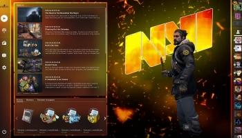 Анимированный фон NAVI – для Panorama UI