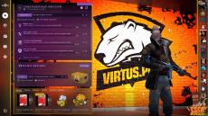 Virtus Pro Panorama UI - скачать бесплатно фон для главного меню игры CS:GO