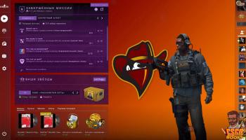 Renegades Panorama UI – скачать бесплатно фон для главного меню игры CS:GO