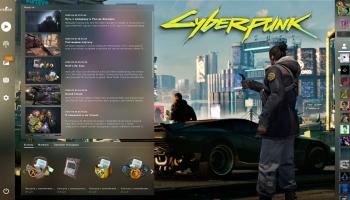 🔥Фон Cyberpunk 2077 – для Panorama UI
