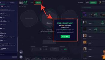 Csgofly.com промокод на 0.5$ и кран на халявные монеты. Каждые 3 минуты дают по 3 цента