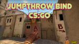 Как добавить бинд броска в прыжке (jumpthrow) в CS:GO