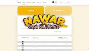 Nawar.ru рулетка от создателей кабуры и нвути с халявой и ежедневками: развлекаемся и зарабатываем рубли
