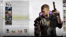 ?Фон с главным героем Cyberpunk 2077 – для Panorama UI