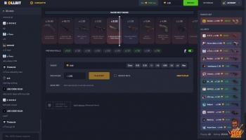 Rollbit.com промокод на 35 рублей (0.5$). Новый формат crash рулеток. Рулетка не жадная, даёт выиграть, подняться